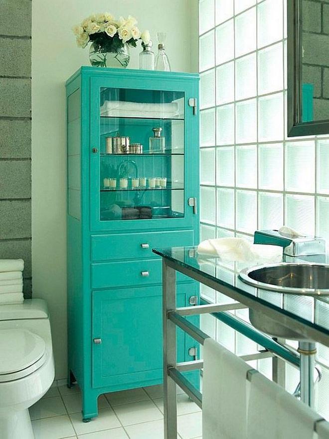 Chọn màu ngọc lam cho nhà tắm chính là xu hướng thiết kế mới nhất trong năm tới - Ảnh 11.