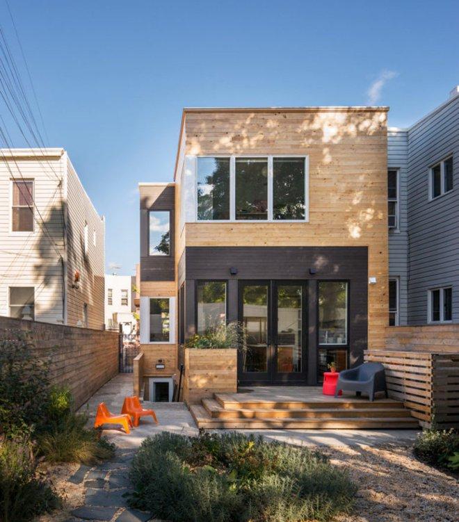 Diện tích chỉ 30m², ngôi nhà bằng gỗ dưới đây vẫn vô cùng hiện đại và bắt mắt - Ảnh 2.