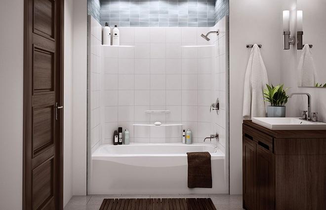 Những mẫu bồn tắm mini siêu yêu bất chấp phòng tắm nhà bạn nhỏ đến mấy - Ảnh 1.