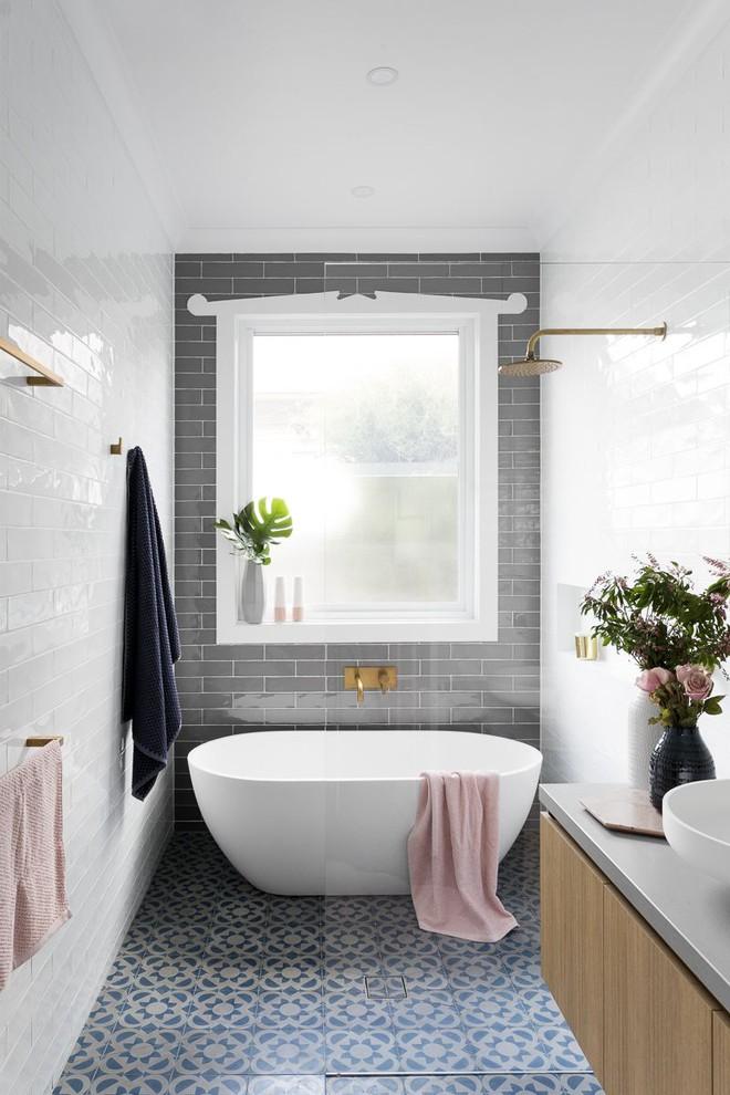 Những mẫu bồn tắm mini siêu yêu bất chấp phòng tắm nhà bạn nhỏ đến mấy - Ảnh 6.