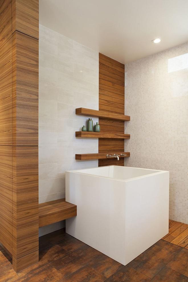 Những mẫu bồn tắm mini siêu yêu bất chấp phòng tắm nhà bạn nhỏ đến mấy - Ảnh 8.