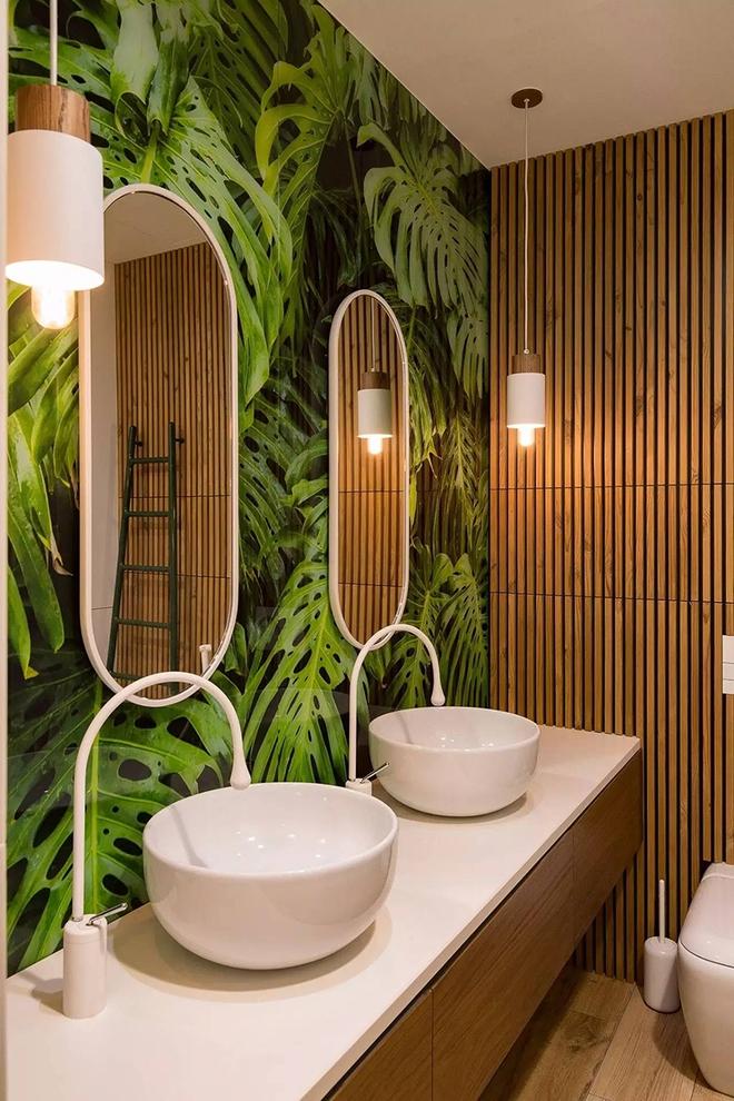 Gợi ý chọn gương hợp với phòng tắm gia đình giữa vô số mẫu gương đẹp  - Ảnh 1.