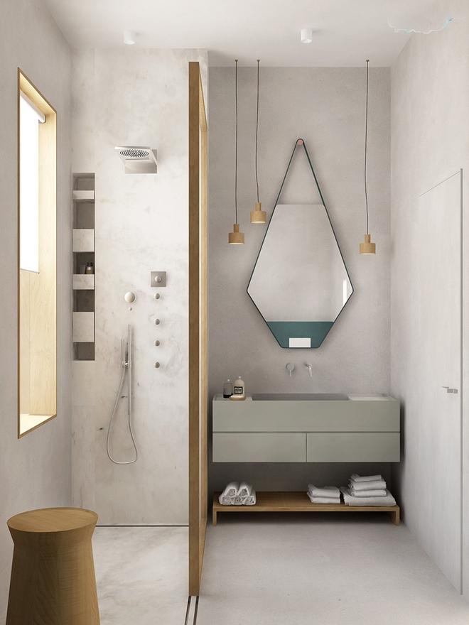 Gợi ý chọn gương hợp với phòng tắm gia đình giữa vô số mẫu gương đẹp  - Ảnh 5.