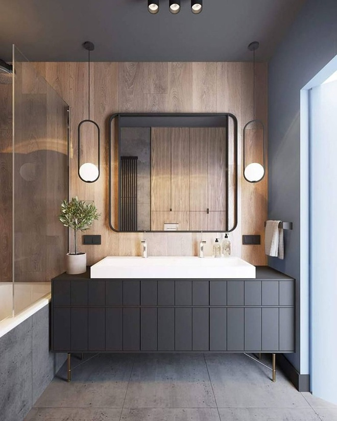 Gợi ý chọn gương hợp với phòng tắm gia đình giữa vô số mẫu gương đẹp  - Ảnh 9.