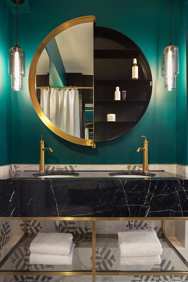 Gợi ý chọn gương hợp với phòng tắm gia đình giữa vô số mẫu gương đẹp  - Ảnh 11.