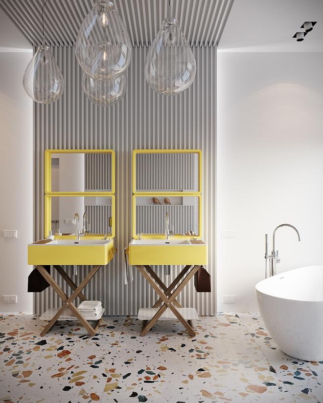 Gợi ý chọn gương hợp với phòng tắm gia đình giữa vô số mẫu gương đẹp  - Ảnh 12.