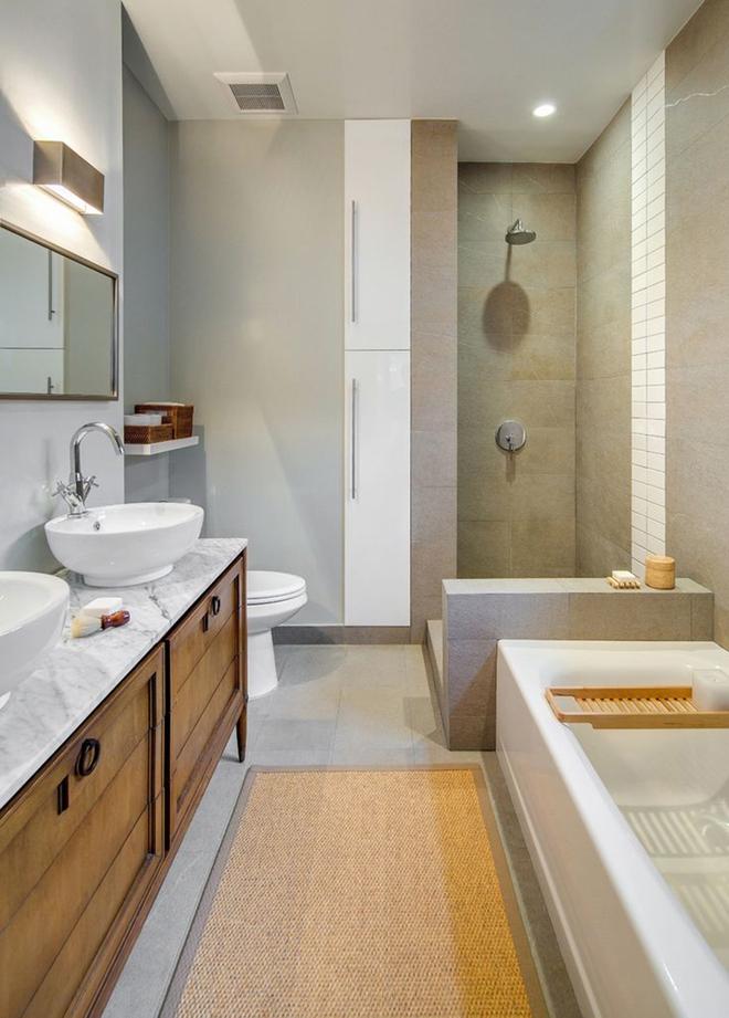 Bạn biết không, có đến 7/10 người chọn phong cách nội thất này cho nhà tắm - Ảnh 9.