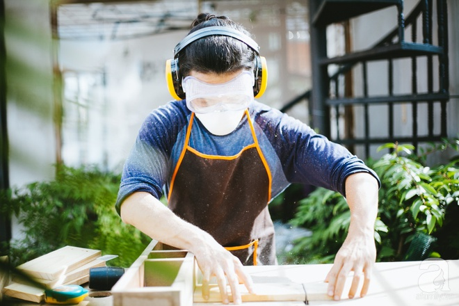 Chàng họa sĩ 9x độc thân ở Sài Gòn với thú vui làm tiểu cảnh Terrarium khiến vạn người mê - Ảnh 4.