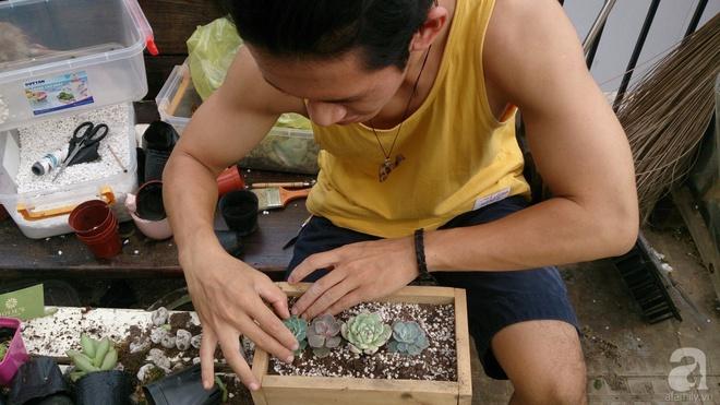 Chàng họa sĩ 9x độc thân ở Sài Gòn với thú vui làm tiểu cảnh Terrarium khiến vạn người mê - Ảnh 14.