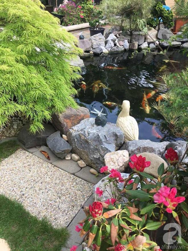 Ngắm khu vườn rộng hơn nghìn m² rực rỡ khoe hương sắc của người đàn ông Việt dành hết tâm huyết để chăm bón - Ảnh 4.