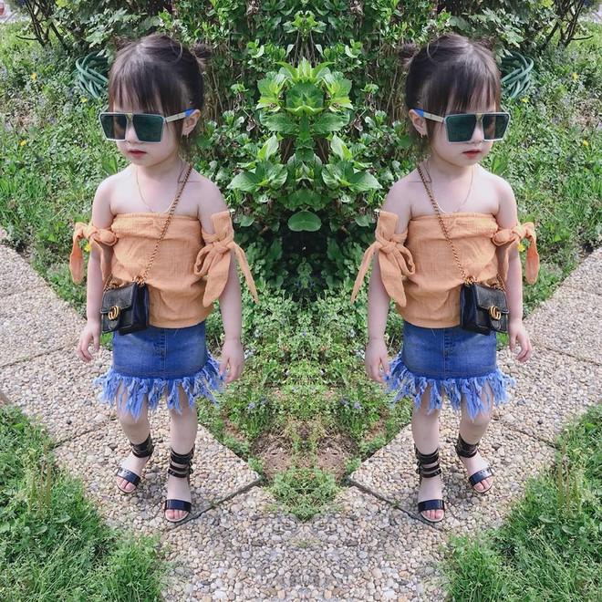 Gặp gỡ bé gái Việt mặc đẹp như fashionista khiến các mẹ trầm trồ không ngớt - Ảnh 1.