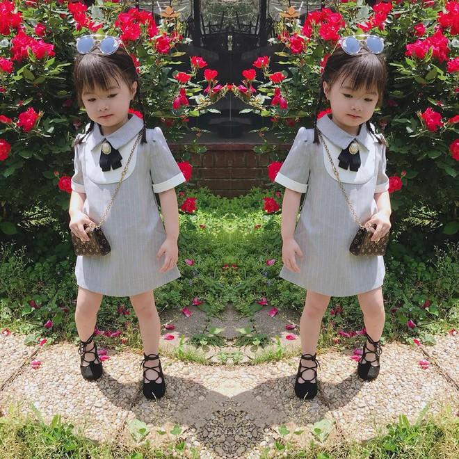 Gặp gỡ bé gái Việt mặc đẹp như fashionista khiến các mẹ trầm trồ không ngớt - Ảnh 4.