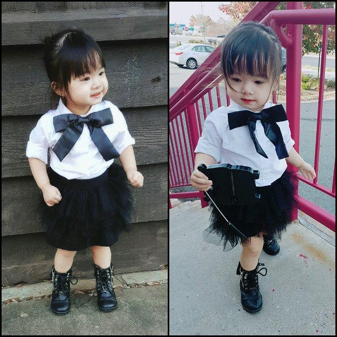Gặp gỡ bé gái Việt mặc đẹp như fashionista khiến các mẹ trầm trồ không ngớt - Ảnh 13.