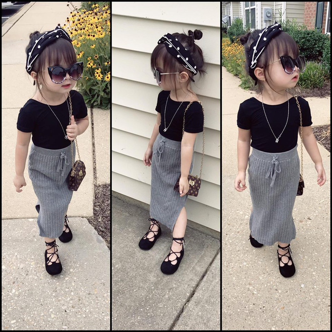 Gặp gỡ bé gái Việt mặc đẹp như fashionista khiến các mẹ trầm trồ không ngớt - Ảnh 26.
