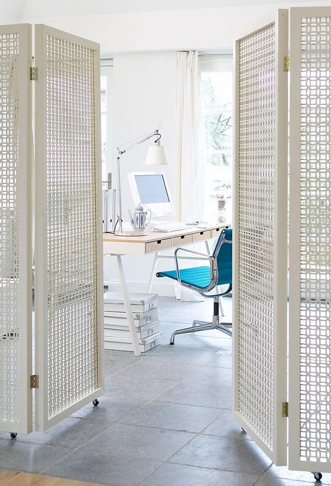 Xu hướng dùng thiết kế gỗ lưới cho nội thất trong nhà, đảm bảo đẹp không chê vào đâu được - Ảnh 1.