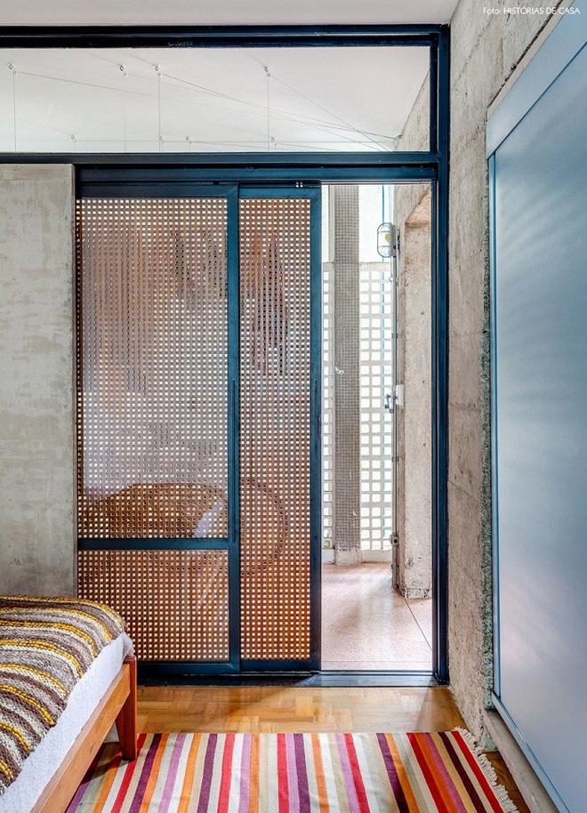 Xu hướng dùng thiết kế gỗ lưới cho nội thất trong nhà, đảm bảo đẹp không chê vào đâu được - Ảnh 2.