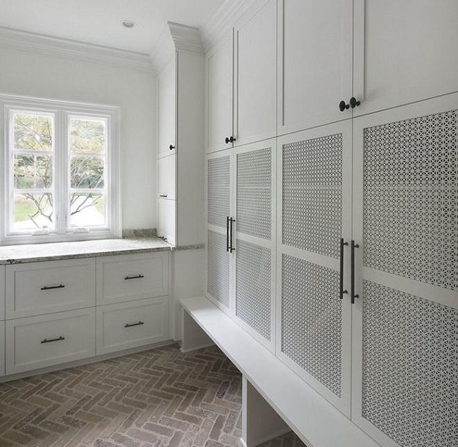 Xu hướng dùng thiết kế gỗ lưới cho nội thất trong nhà, đảm bảo đẹp không chê vào đâu được - Ảnh 14.