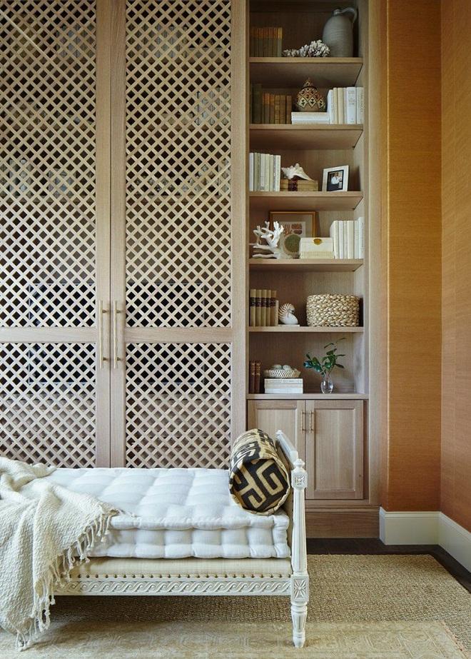 Xu hướng dùng thiết kế gỗ lưới cho nội thất trong nhà, đảm bảo đẹp không chê vào đâu được - Ảnh 19.
