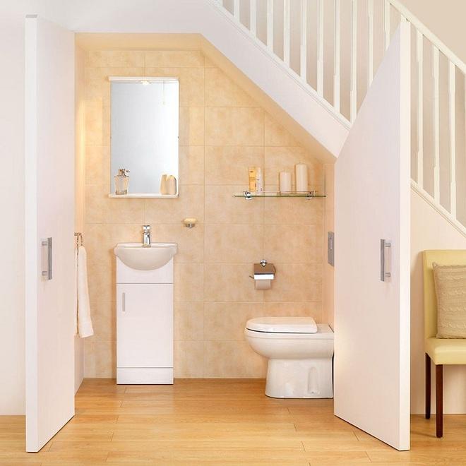 Tận dụng gầm cầu thang trong nhà thành những không gian vô cùng tiện ích - Ảnh 2.