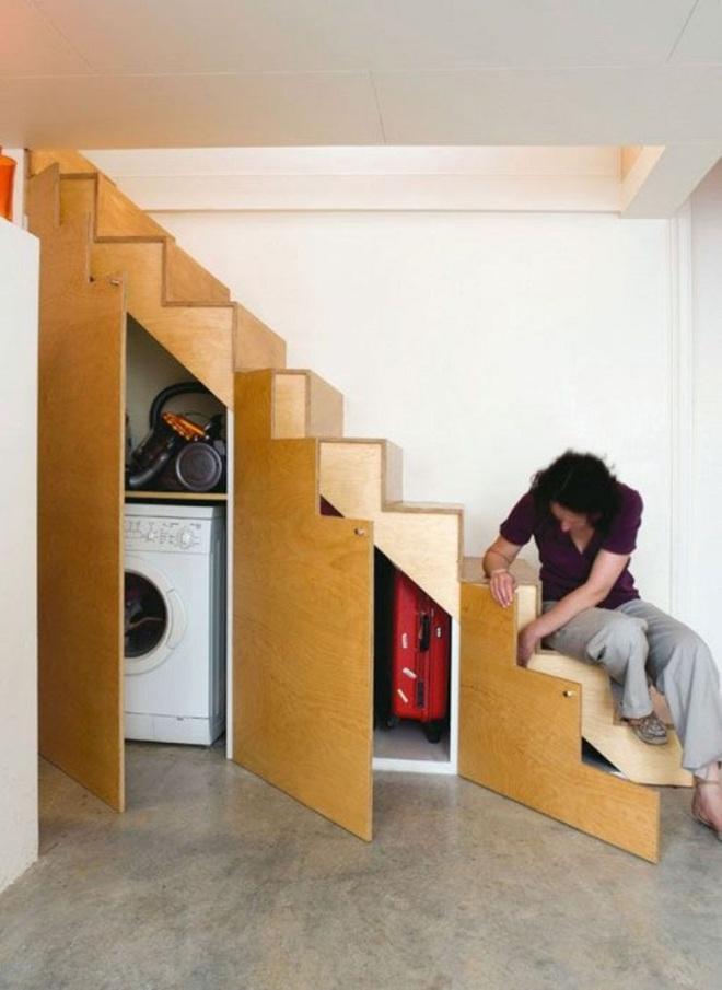 Tận dụng gầm cầu thang trong nhà thành những không gian vô cùng tiện ích - Ảnh 12.