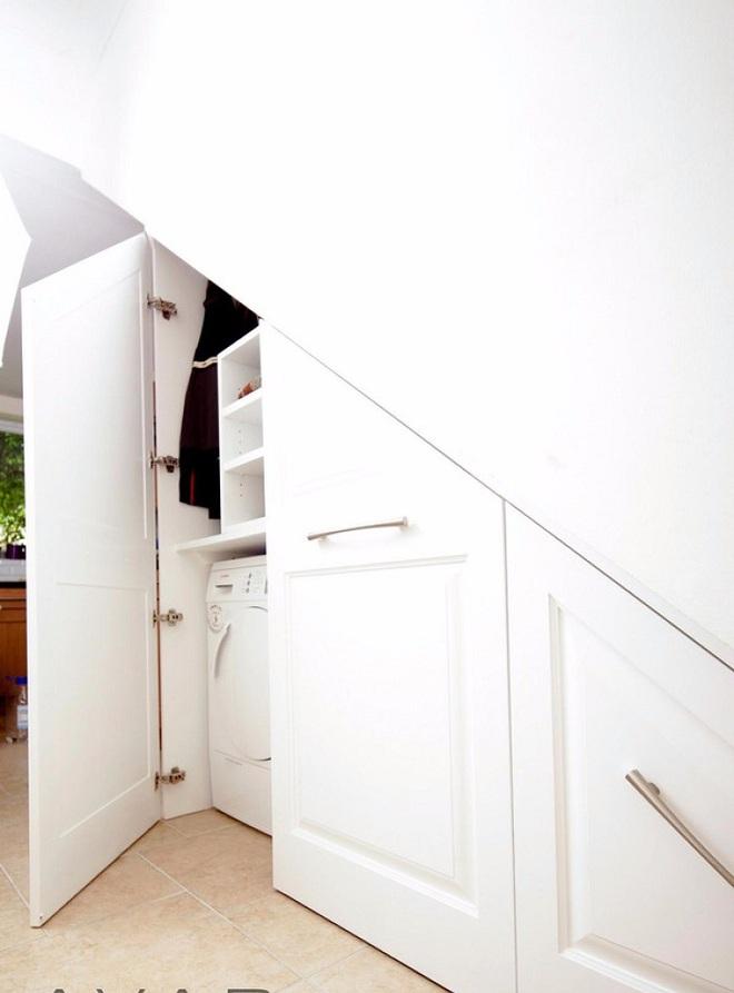 Tận dụng gầm cầu thang trong nhà thành những không gian vô cùng tiện ích - Ảnh 17.
