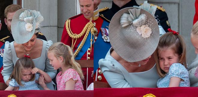 Cách công nương Kate dỗ con nín khóc trước chỗ đông người được khen hết lời - Ảnh 2.