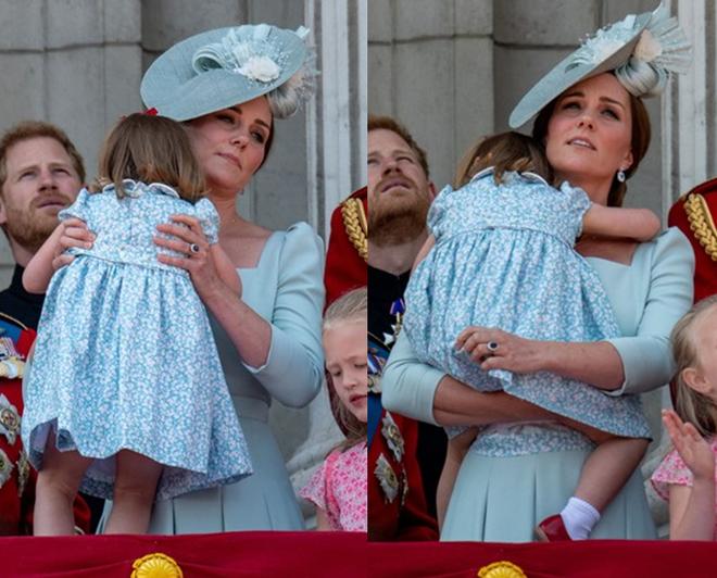 Cách công nương Kate dỗ con nín khóc trước chỗ đông người được khen hết lời - Ảnh 3.