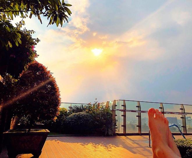 Ngắm căn hộ rộng đến 200m² và khu vườn view đẹp như trong mơ của nam ca sĩ Nathan Lee ở ngay Q1, Sài Gòn - Ảnh 10.