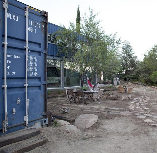 Phát sốt với 5 mẫu thiết kế cải tạo thùng container đã cũ thành nhà container vạn người mê - Ảnh 10.