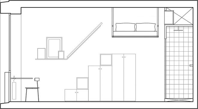 Căn hộ vỏn vẹn 18m² này chính là ước mơ của mọi người độc thân trên toàn thế giới - Ảnh 12.