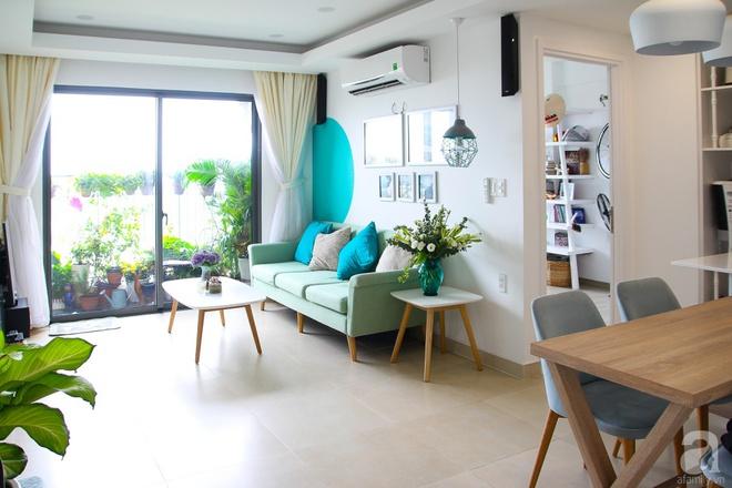 Căn hộ 73m² thoáng đãng, ngập tràn màu xanh cây cỏ ở trung tâm Sài Gòn của cô gái độc thân cá tính - Ảnh 2.