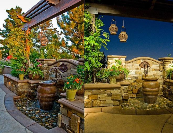 Với điểm nhấn này trong thiết kế sân vườn, cả ngôi nhà của bạn bỗng hóa thành ngôi nhà cổ tích trong chớp mắt - Ảnh 6.
