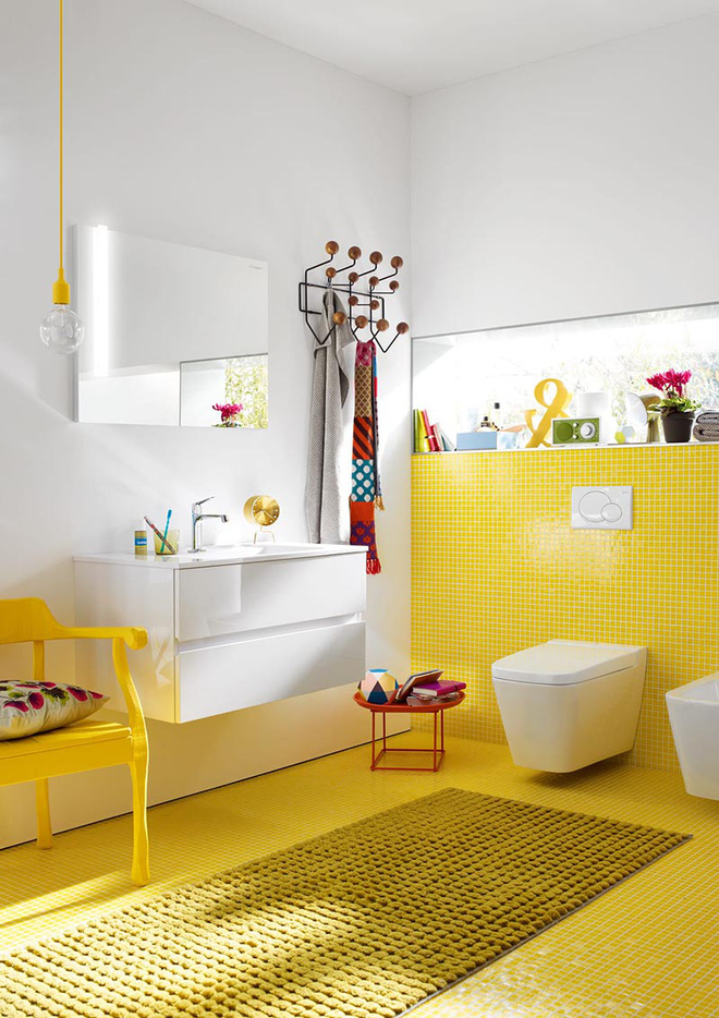 Gam màu được dự đoán hot nhất hè năm nay giờ đã phủ sóng hết căn phòng tắm của mọi gia đình - Ảnh 2.