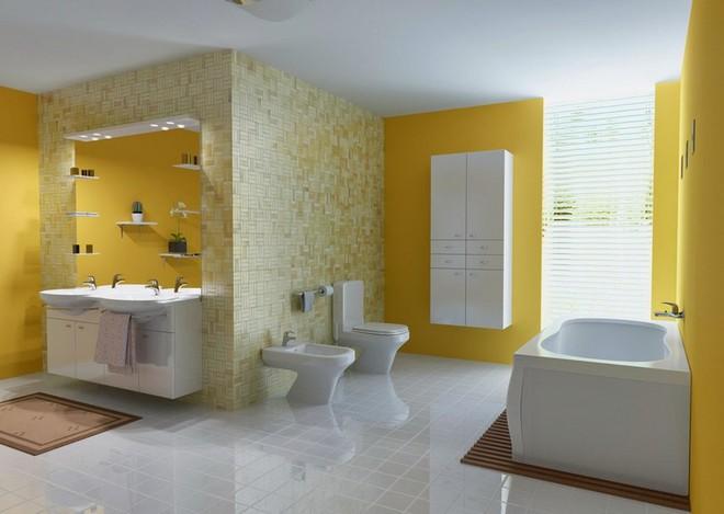 Gam màu được dự đoán hot nhất hè năm nay giờ đã phủ sóng hết căn phòng tắm của mọi gia đình - Ảnh 14.