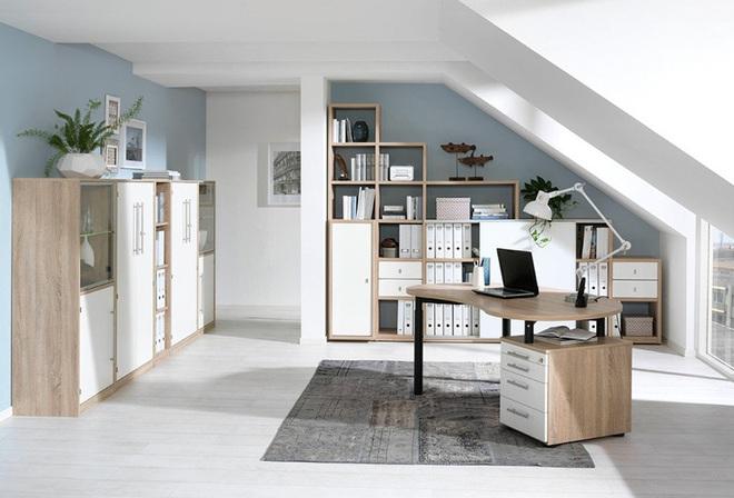 Muốn công việc hiệu quả trước tiên phải có một góc làm việc tại nhà như thế này đã - Ảnh 6.