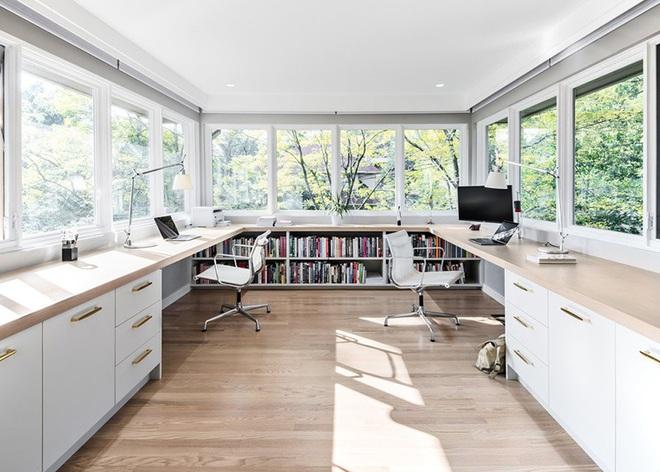 Muốn công việc hiệu quả trước tiên phải có một góc làm việc tại nhà như thế này đã - Ảnh 15.