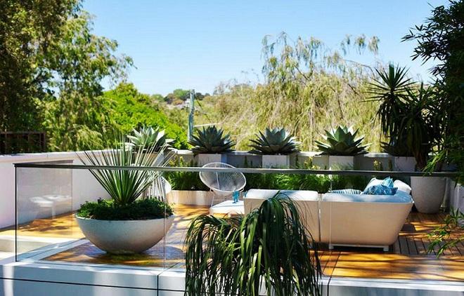 """Ngôi nhà của bạn sẽ chiếm """"spotlight"""" của cả khu phố chỉ nhờ khoảng sân thượng sang chảnh và xanh tươi thế này - Ảnh 9."""