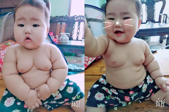 Truy lùng em bé có thân hình núc na núc ních khiến ai cũng nghĩ đến biệt danh Sumo - Ảnh 1.