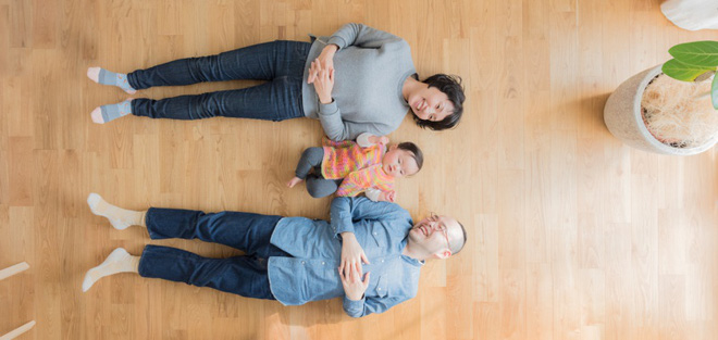 Gia đình 3 người ở Nhật sống thoải mái trong căn hộ siêu nhỏ nhờ cách bài trí thông minh - Ảnh 1.