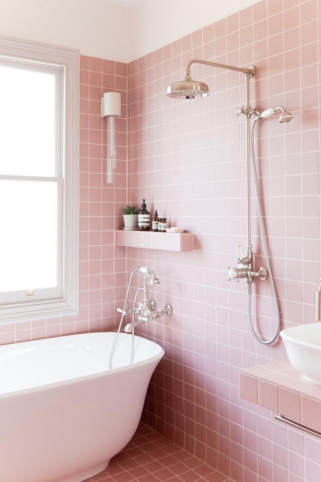 """Những """"pink girl"""" đã sẵn sàng biến phòng tắm của mình thành thiên đường ngọt ngào chưa? - Ảnh 4."""