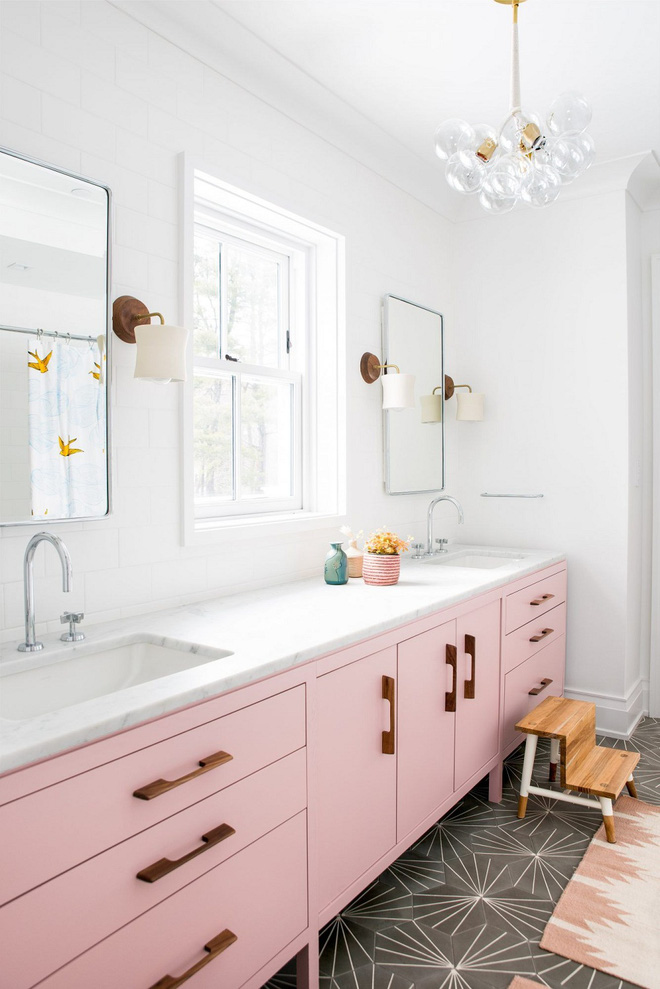 """Những """"pink girl"""" đã sẵn sàng biến phòng tắm của mình thành thiên đường ngọt ngào chưa? - Ảnh 11."""