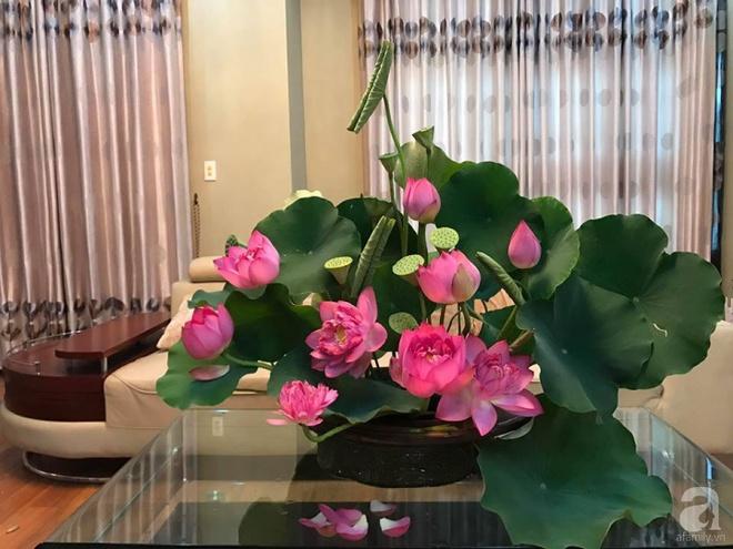 Cuối tuần cùng gặp gỡ người phụ nữ đẹp đất Cảng cắm hoa sen đẹp như tranh - Ảnh 8.