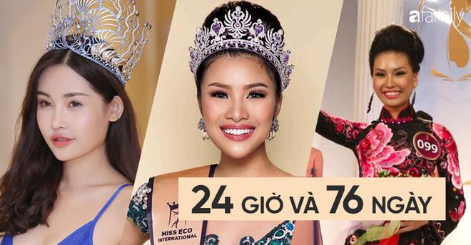 Những Người đẹp, Hoa hậu có tuổi thọ ngắn nhất Việt Nam - Ảnh 2.