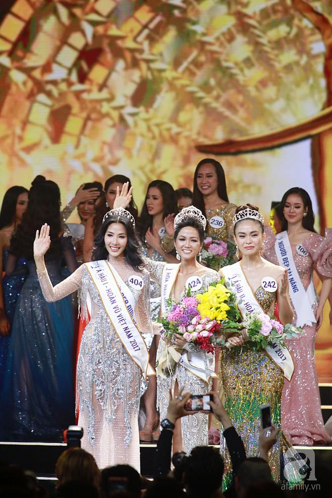 HHen Niê vượt mặt Hoàng Thùy, giành ngôi Hoa hậu Hoàn vũ Việt Nam 2017 - Ảnh 1.