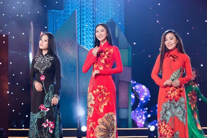 Hà Thu - Nam Em diện áo dài rực rỡ, khoe giọng ngọt ngào khi hát Bolero - Ảnh 6.