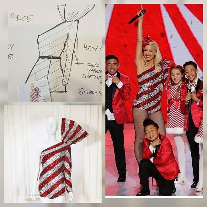 Sau Rihanna và Katy Perry, giờ đã đến lượt cả Gwen Stefani cũng diện đồ của NTK Công Trí! - Ảnh 2.