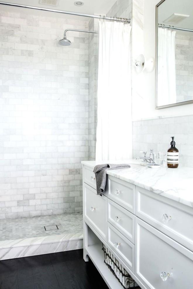 5 cách để tạo nên phòng tắm tối giản, giúp thư giãn tối đa cho người dùng - Ảnh 1.