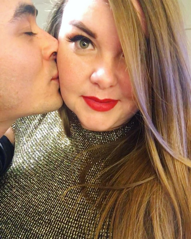 Cô nàng ngoại cỡ lên tiếng sau khi tấm ảnh chụp cùng bạn trai bị cư dân mạng ném đá, cho rằng hai người chẳng xứng đôi - Ảnh 2.