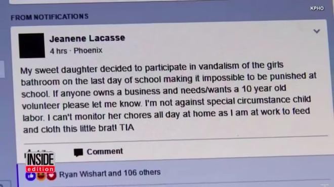 Con gái phá phách ở trường, mẹ Mỹ nghĩ ra một cách phạt độc đáo mà phụ huynh nào nghe xong cũng khen nức nở - Ảnh 2.