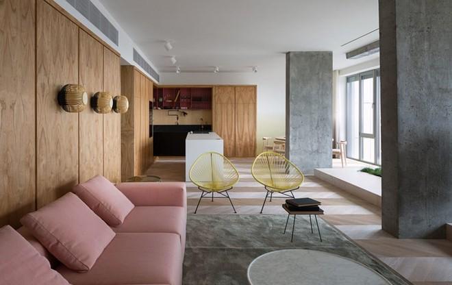 Căn hộ một phòng ngủ có thiết kế hiện đại, độc đáo - Ảnh 2.